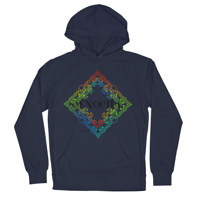 Genocide Men's French Terry Pullover Hoody by lostsigil's Artist Shop