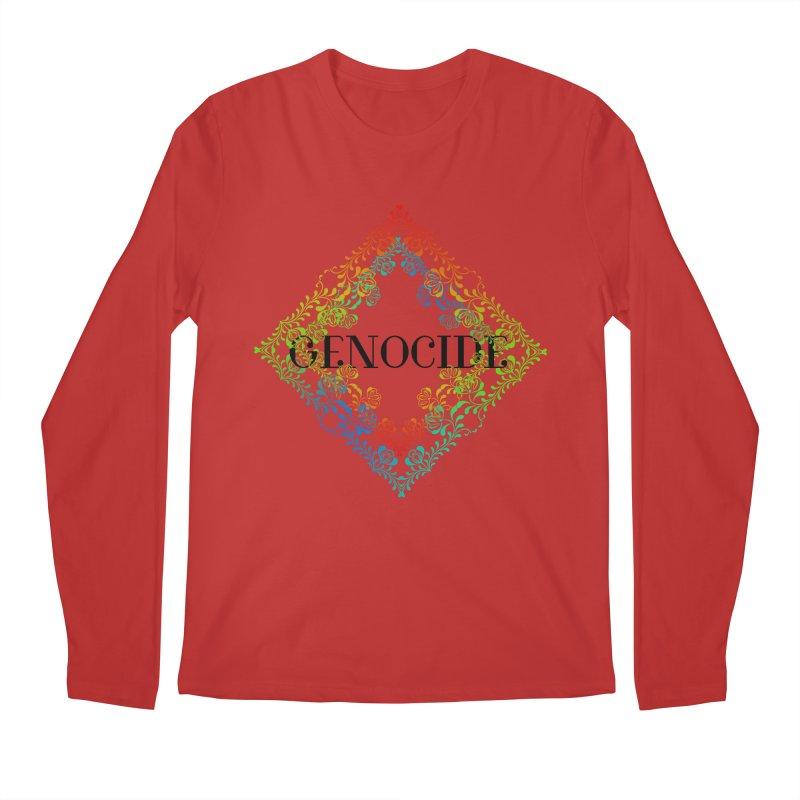 Genocide Men's Regular Longsleeve T-Shirt by lostsigil's Artist Shop