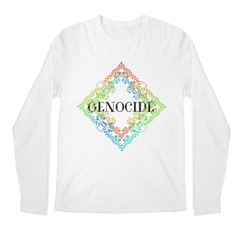 Genocide Men's Regular Longsleeve T-Shirt by lostsigil's Artist Shop