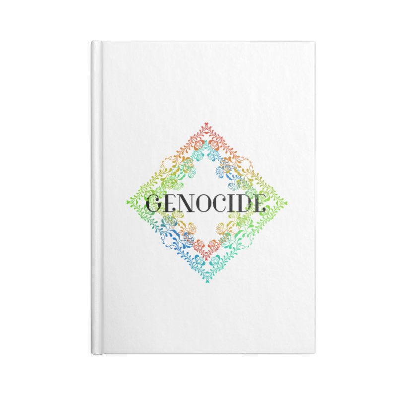 Genocide Accessories Blank Journal Notebook by lostsigil's Artist Shop