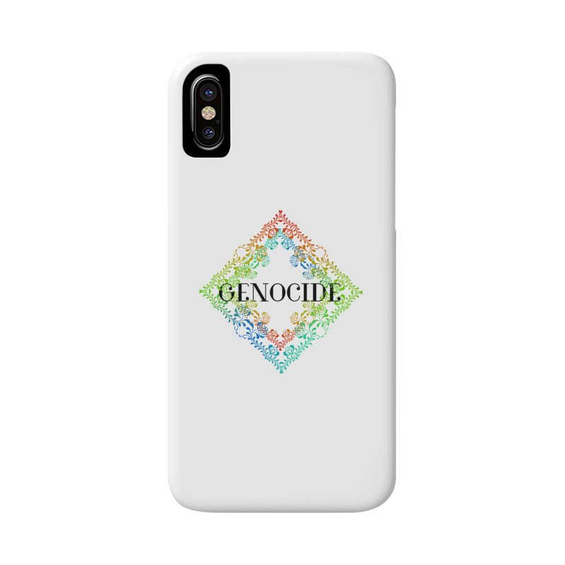 Genocide Accessories Phone Case by lostsigil's Artist Shop