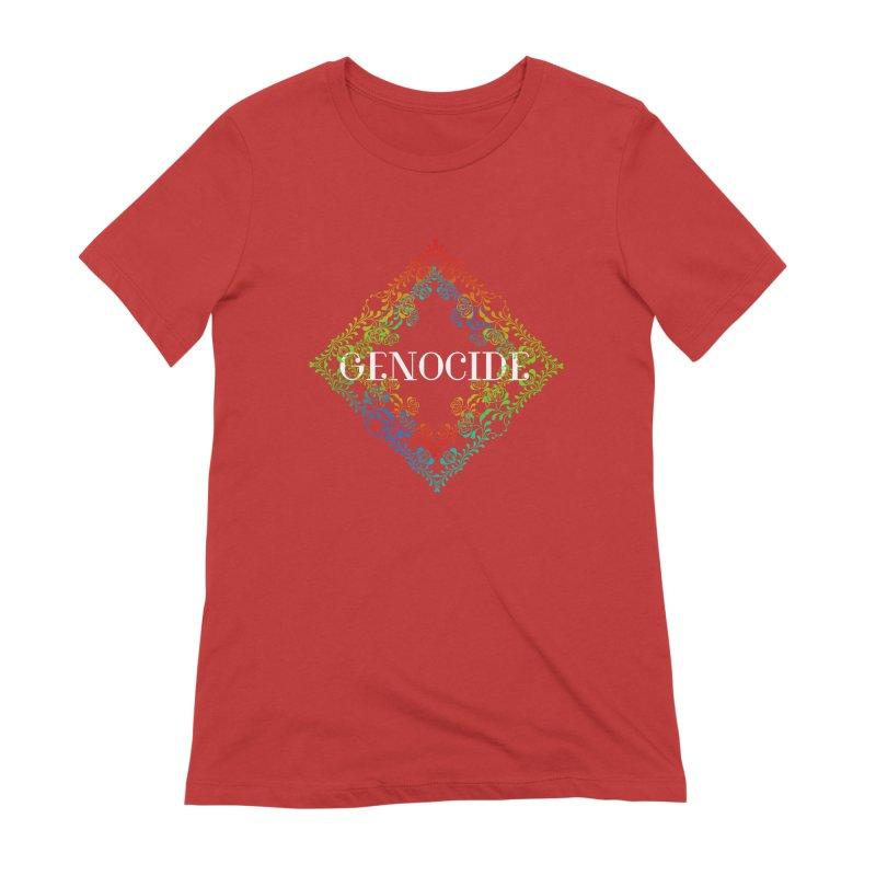 Genocide Dark Women's Extra Soft T-Shirt by lostsigil's Artist Shop