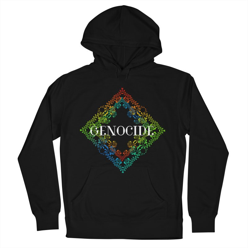 Genocide Dark Men's French Terry Pullover Hoody by lostsigil's Artist Shop