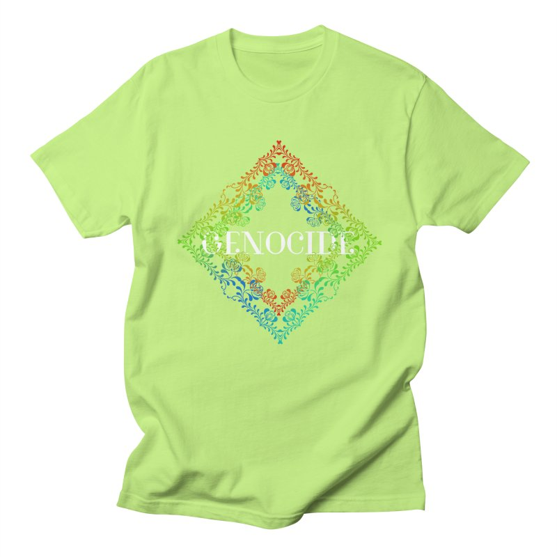 Genocide Dark Women's Regular Unisex T-Shirt by lostsigil's Artist Shop