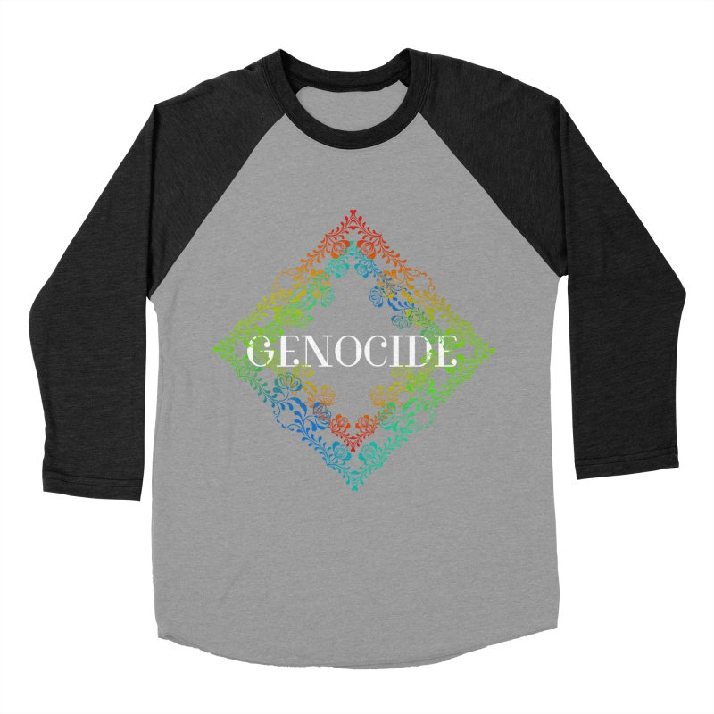 Genocide Dark Women's Baseball Triblend Longsleeve T-Shirt by lostsigil's Artist Shop
