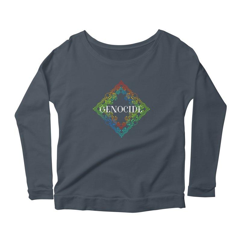 Genocide Dark Women's Scoop Neck Longsleeve T-Shirt by lostsigil's Artist Shop