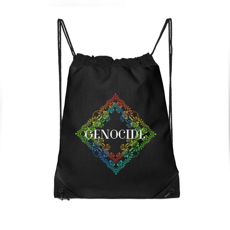 Genocide Dark Accessories Drawstring Bag Bag by lostsigil's Artist Shop