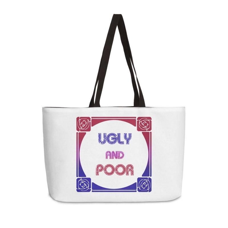 Ugly and Poor Accessories Weekender Bag Bag by lostsigil's Artist Shop