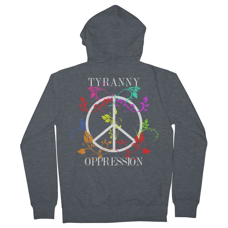 All you need is Oppression Dark Men's French Terry Zip-Up Hoody by lostsigil's Artist Shop