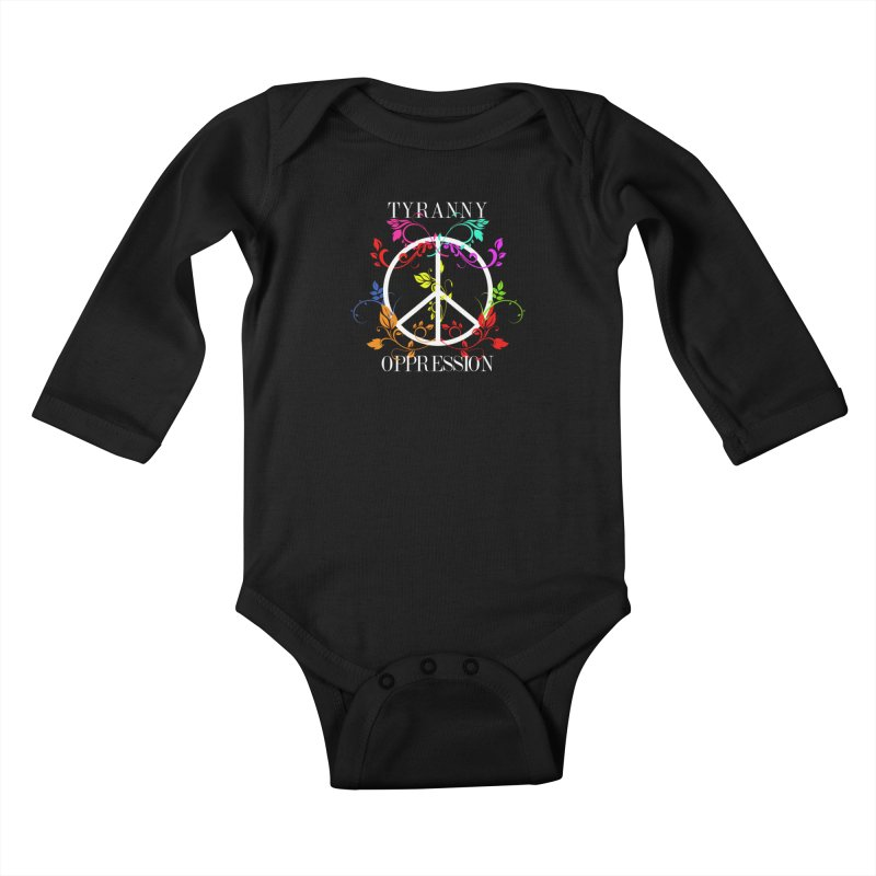 All you need is Oppression Dark Kids Baby Longsleeve Bodysuit by lostsigil's Artist Shop