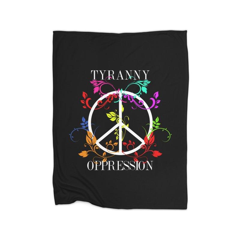 All you need is Oppression Dark Home Fleece Blanket Blanket by lostsigil's Artist Shop