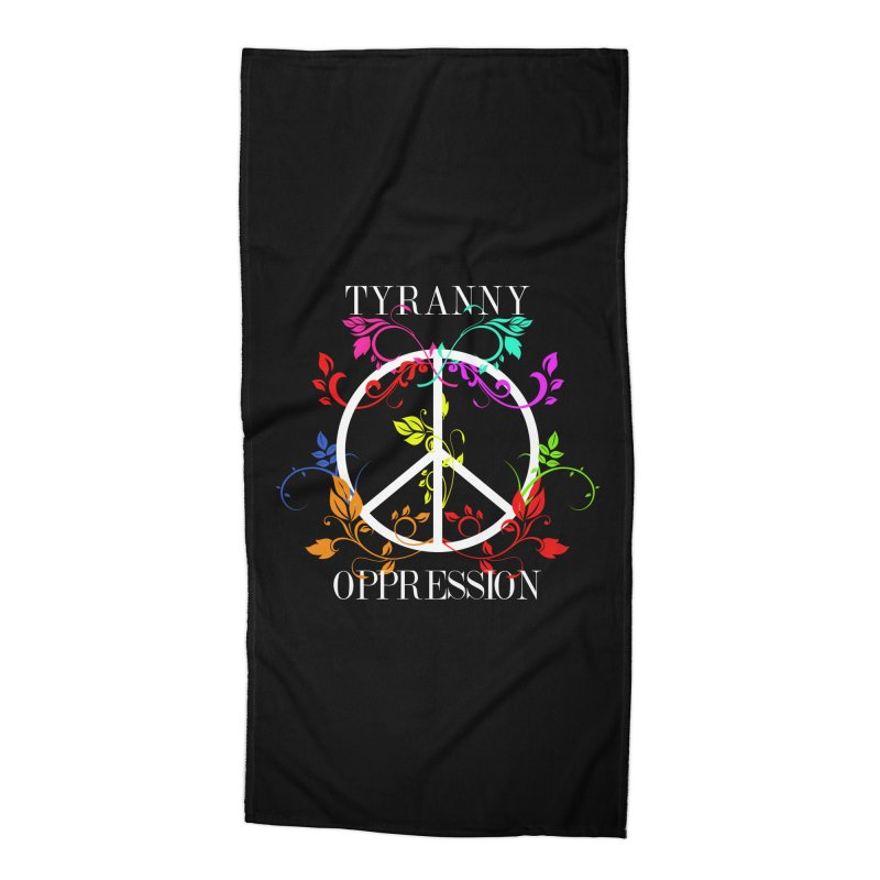 All you need is Oppression Dark Accessories Beach Towel by lostsigil's Artist Shop