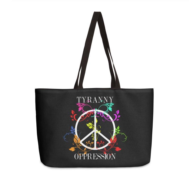 All you need is Oppression Dark Accessories Weekender Bag Bag by lostsigil's Artist Shop