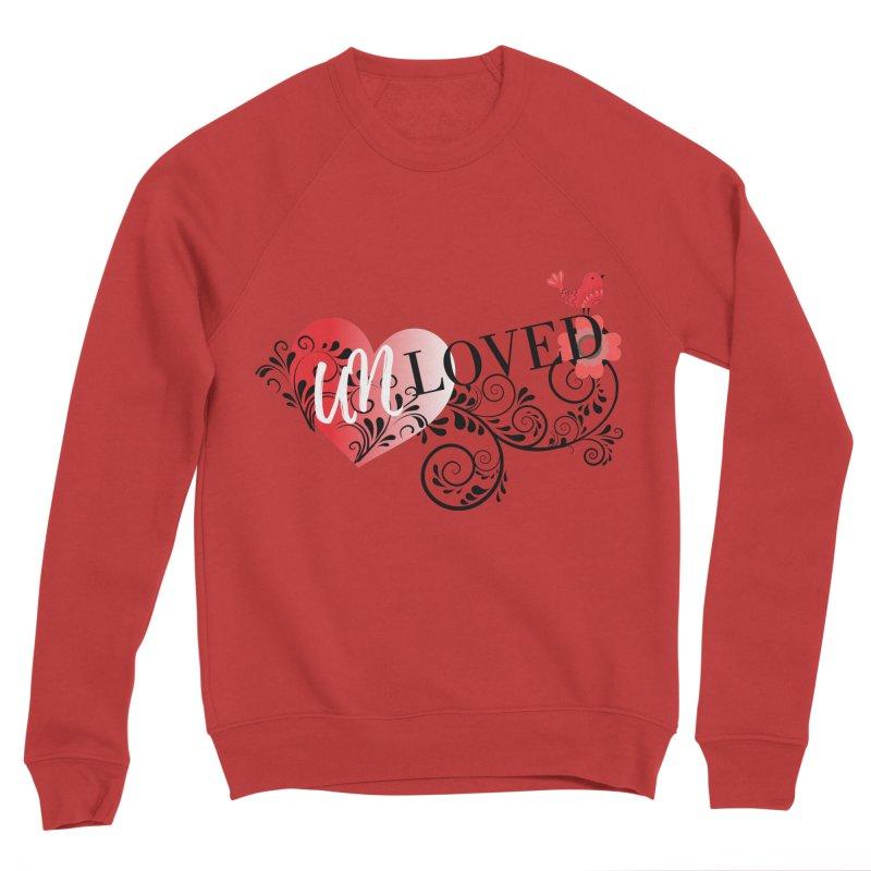 Unloved Men's Sponge Fleece Sweatshirt by lostsigil's Artist Shop
