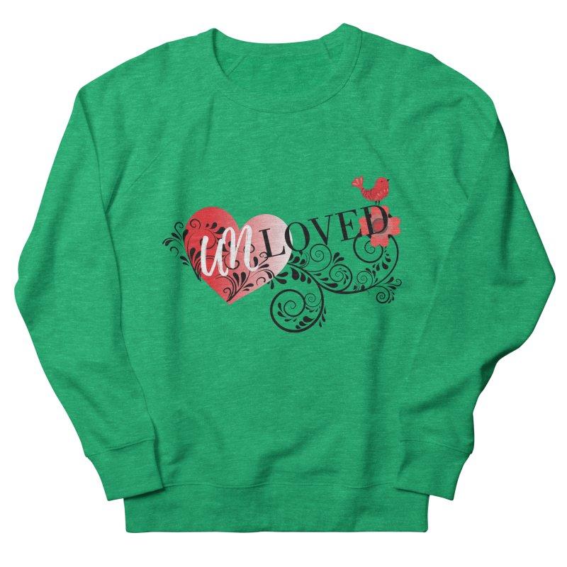 Unloved Men's French Terry Sweatshirt by lostsigil's Artist Shop