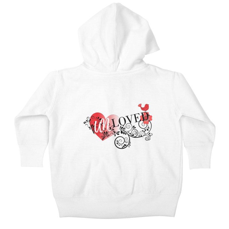 Unloved Kids Baby Zip-Up Hoody by lostsigil's Artist Shop