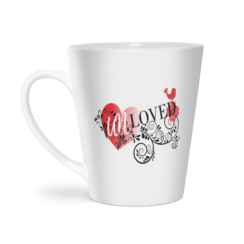 Unloved Accessories Latte Mug by lostsigil's Artist Shop
