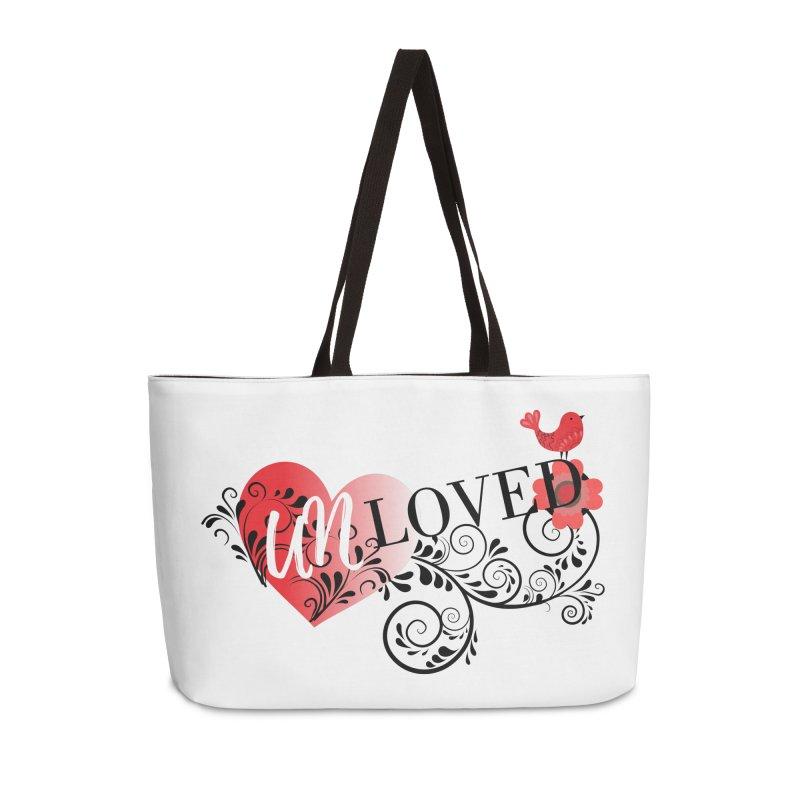 Unloved Accessories Weekender Bag Bag by lostsigil's Artist Shop