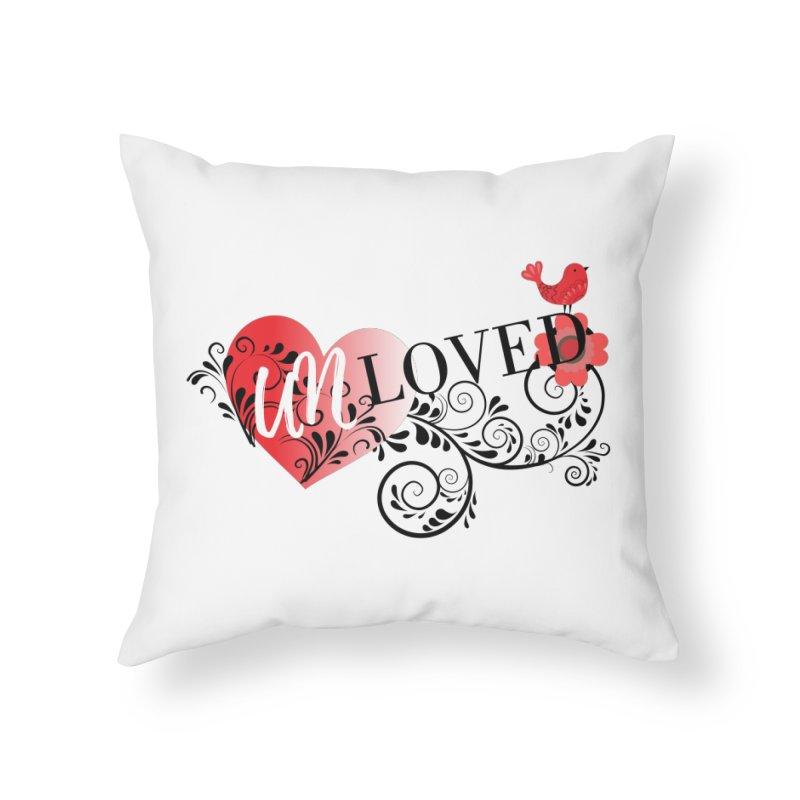 Unloved Home Throw Pillow by lostsigil's Artist Shop