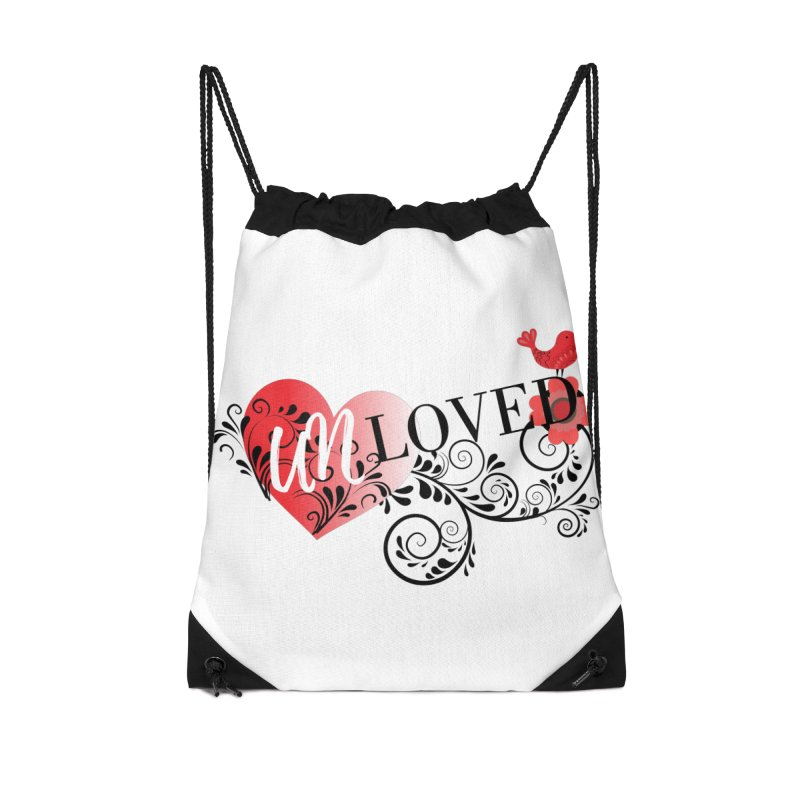 Unloved Accessories Drawstring Bag Bag by lostsigil's Artist Shop