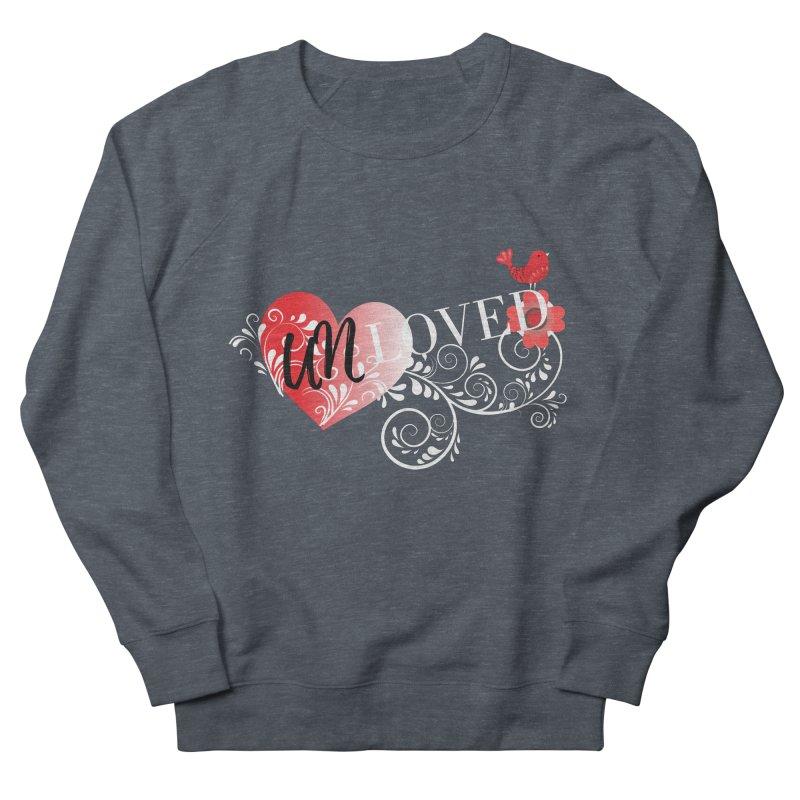 Unloved Dark Men's French Terry Sweatshirt by lostsigil's Artist Shop
