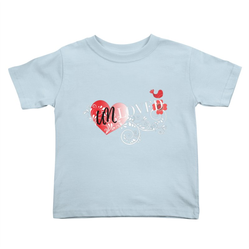 Unloved Dark Kids Toddler T-Shirt by lostsigil's Artist Shop