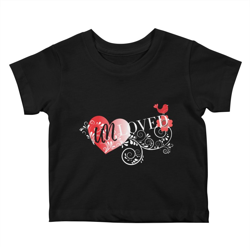 Unloved Dark Kids Baby T-Shirt by lostsigil's Artist Shop