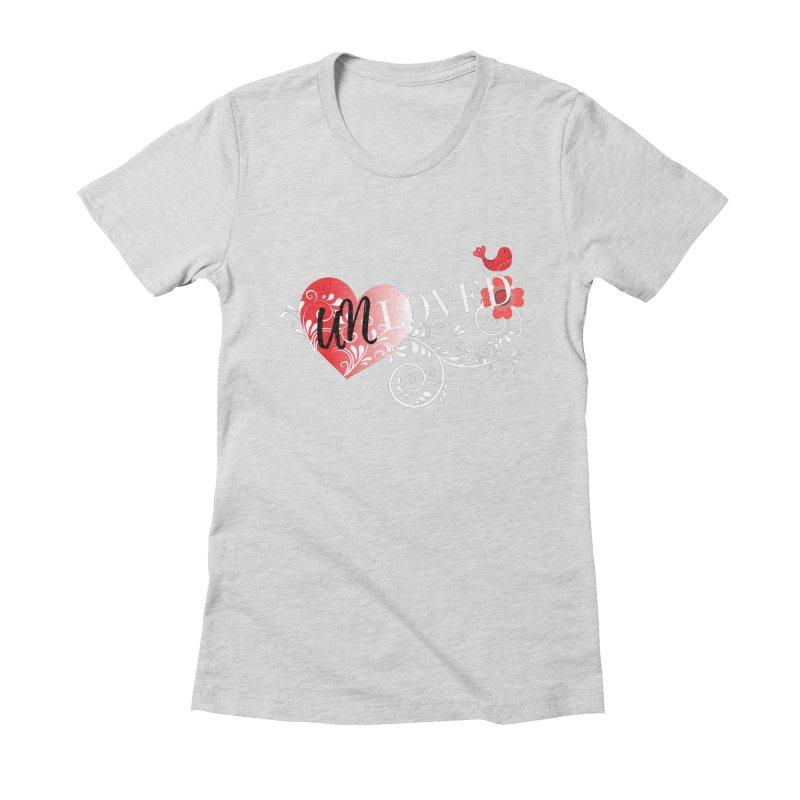 Unloved Dark Women's Fitted T-Shirt by lostsigil's Artist Shop