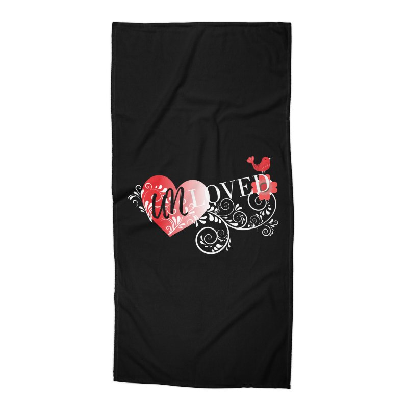 Unloved Dark Accessories Beach Towel by lostsigil's Artist Shop