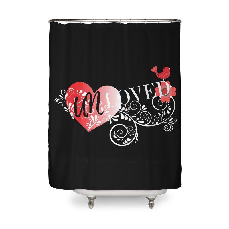 Unloved Dark Home Shower Curtain by lostsigil's Artist Shop