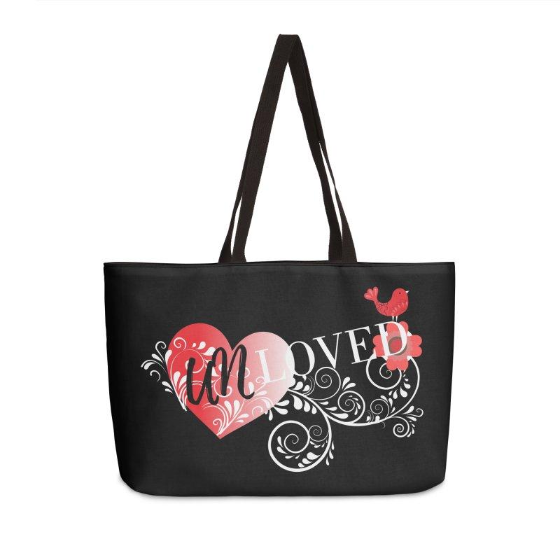 Unloved Dark Accessories Weekender Bag Bag by lostsigil's Artist Shop