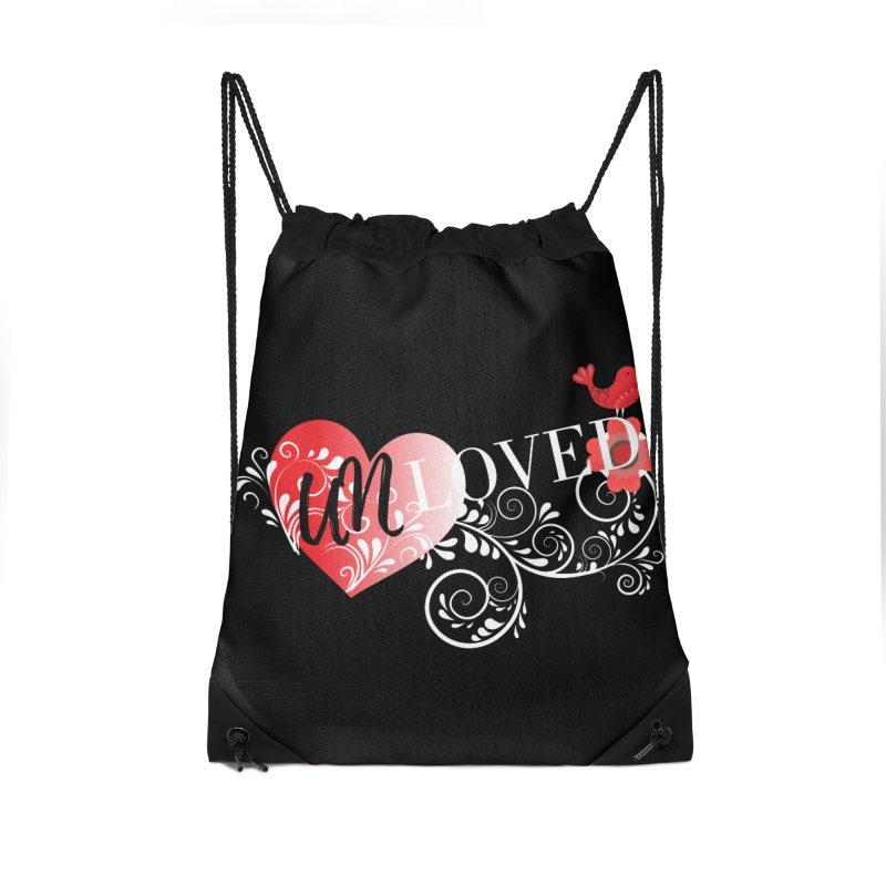 Unloved Dark Accessories Drawstring Bag Bag by lostsigil's Artist Shop