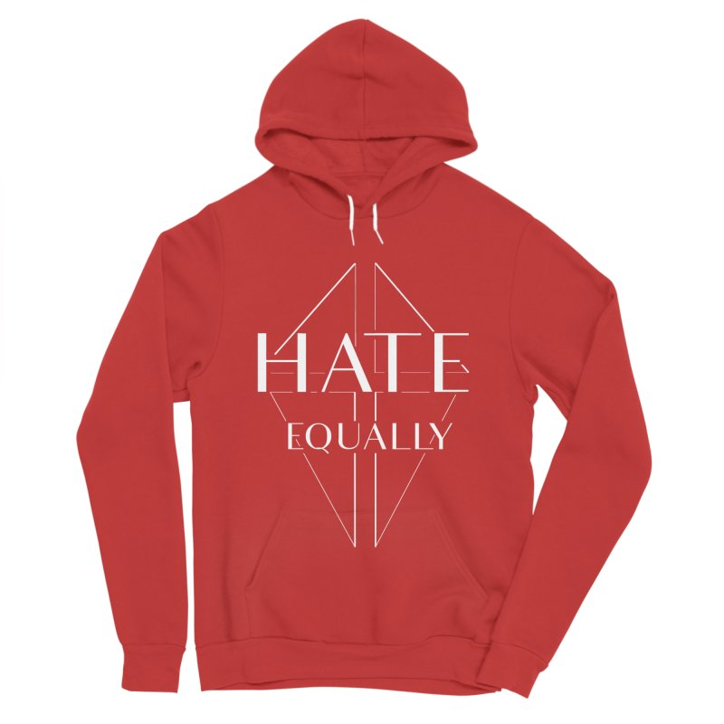 Hate equally dark Women's Sponge Fleece Pullover Hoody by lostsigil's Artist Shop