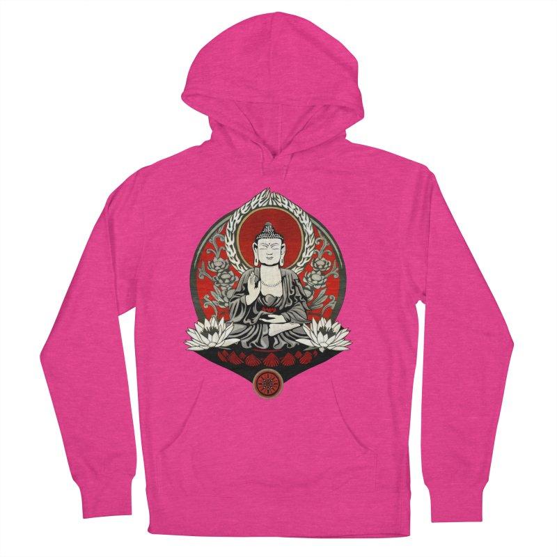 Gautama Buddha Men's Pullover Hoody by Lotus Lounge
