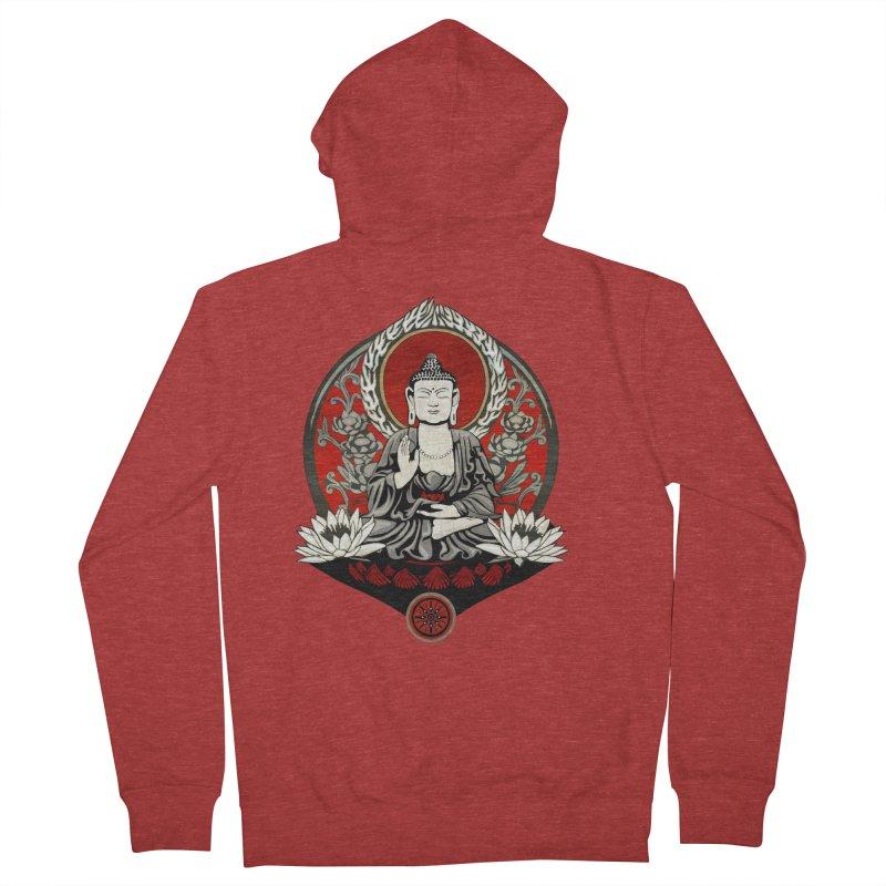 Gautama Buddha Women's Zip-Up Hoody by Lotus Lounge