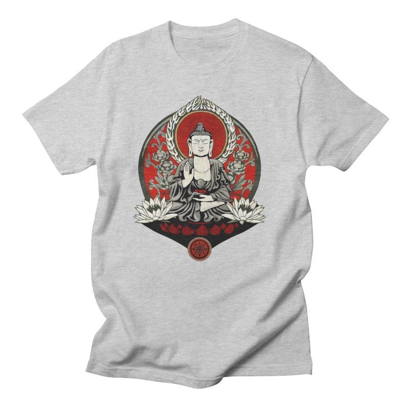Gautama Buddha Men's T-Shirt by Lotus Lounge