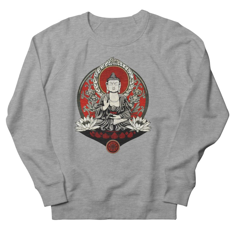 Gautama Buddha Women's Sweatshirt by Lotus Lounge