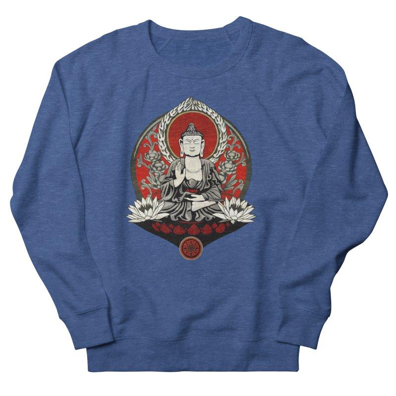 Gautama Buddha Men's Sweatshirt by Lotus Lounge