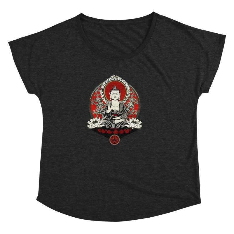 Gautama Buddha Women's Dolman by Lotus Lounge