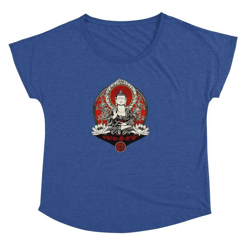 Gautama Buddha Women's Dolman by Lotus Lounge
