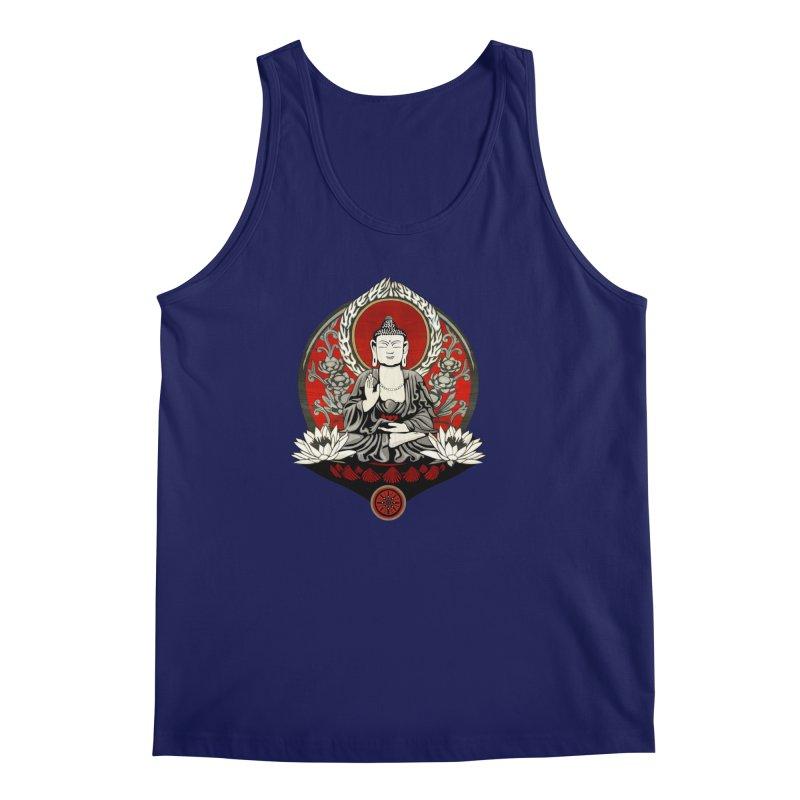 Gautama Buddha Men's Tank by Lotus Lounge
