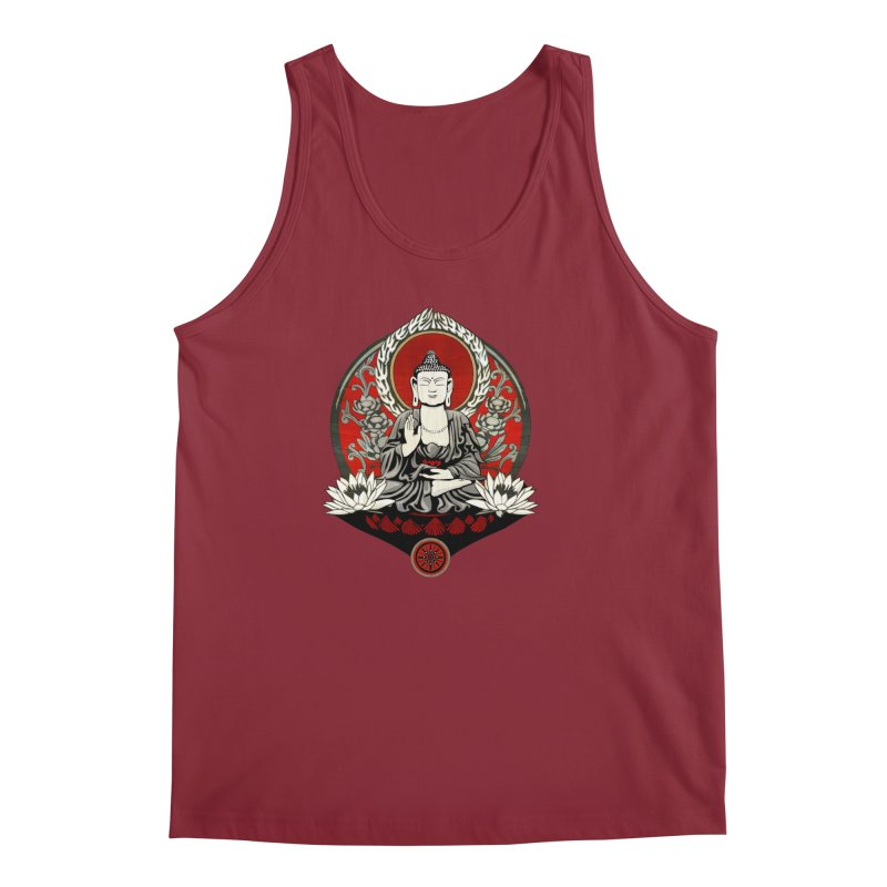 Gautama Buddha Men's Tank by Lotus Lounge