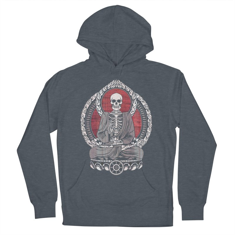Starving Buddha - Cherry Wood Women's Pullover Hoody by Lotus Lounge