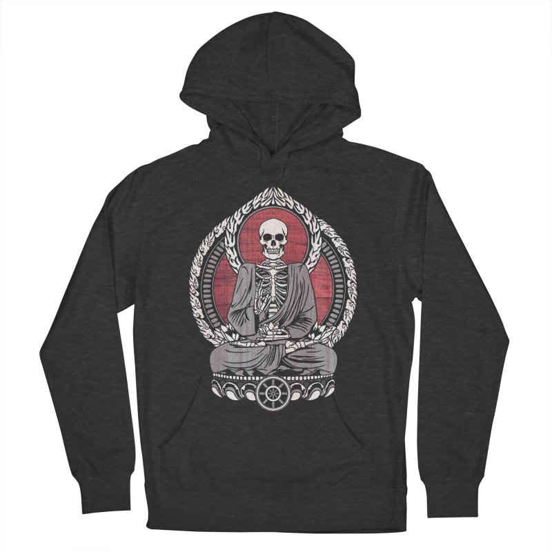 Starving Buddha - Cherry Wood Men's Pullover Hoody by Lotus Lounge