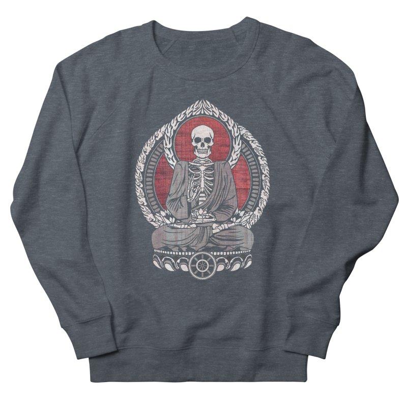 Starving Buddha - Cherry Wood Women's Sweatshirt by Lotus Lounge