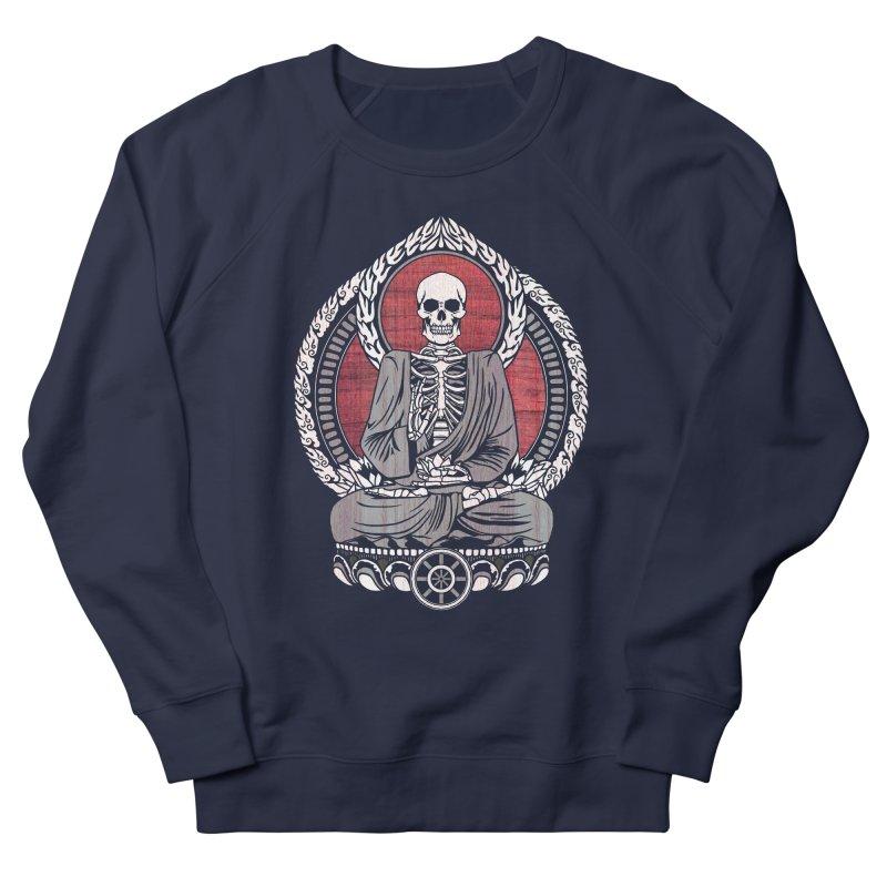 Starving Buddha - Cherry Wood Men's Sweatshirt by Lotus Lounge