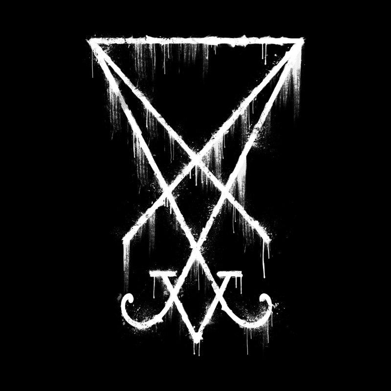 Lucifer Sigil Grunge by Lotus Lounge