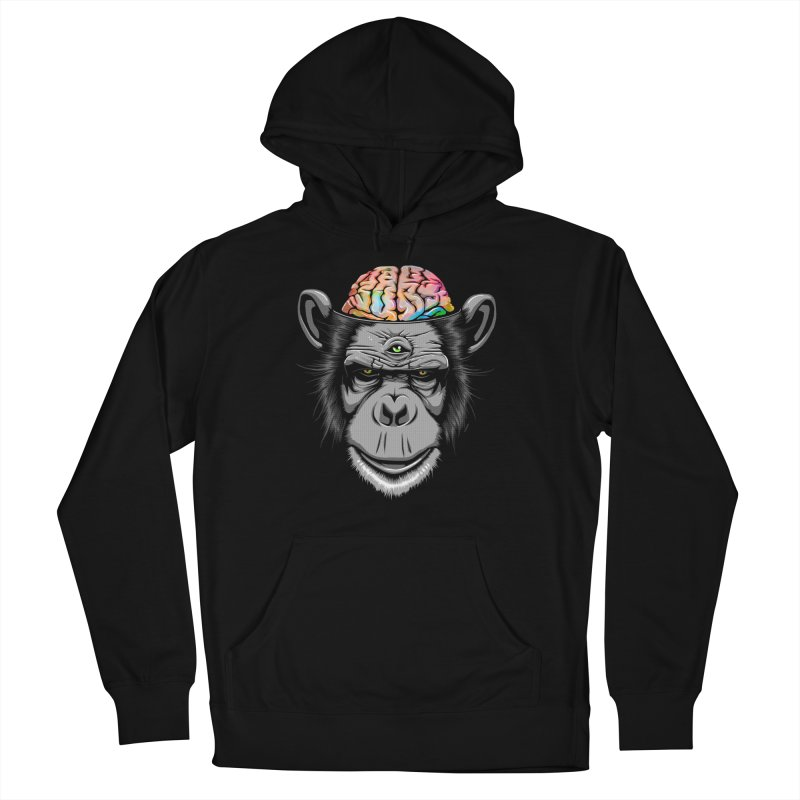 Candy Brain Men's Pullover Hoody by Lotus Lounge