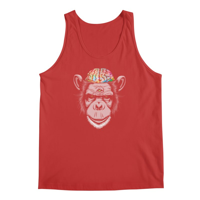 Candy Brain Men's Tank by Lotus Lounge