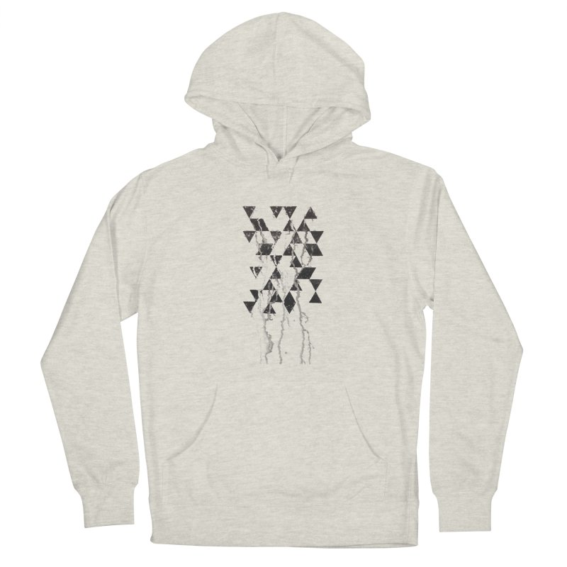Triangles Men's Pullover Hoody by Lotus Stencils